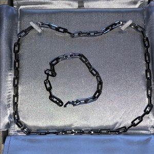 Other - Men's necklace and bracelet set